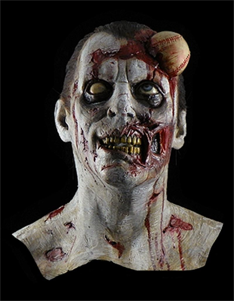 the-baseball-zombie-collector-halloween-masK | Halloween ...