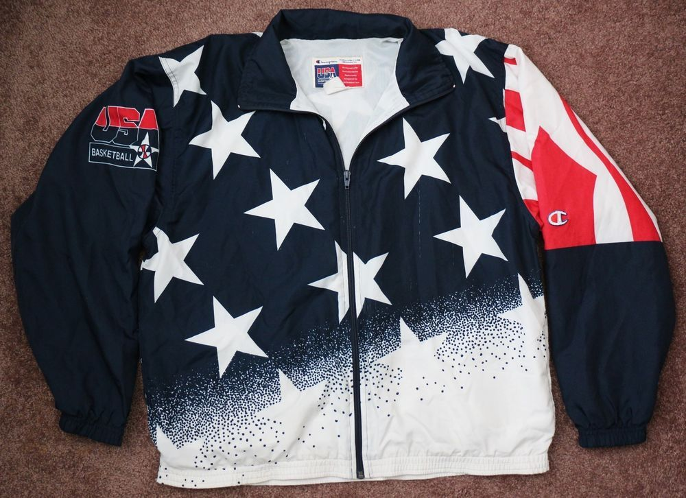 Vintage 1996 CHAMPION Dream Team USA OLYMPIC BASKETBALL ...