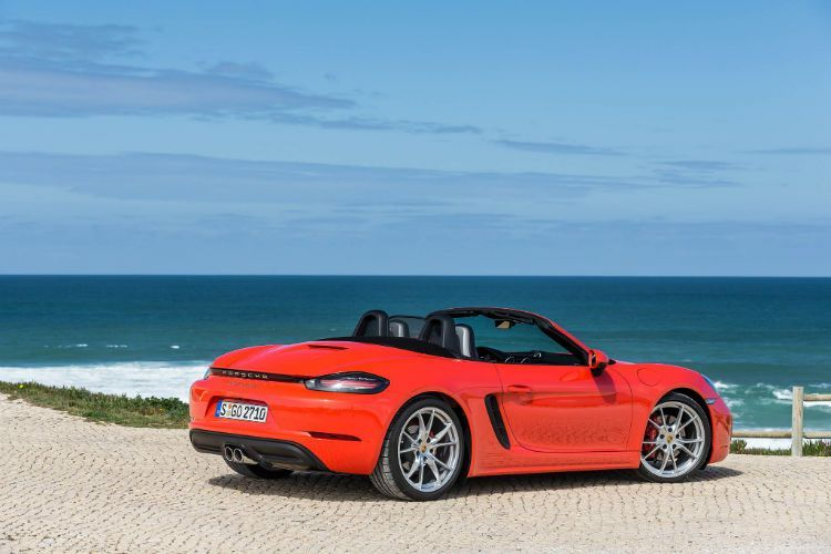 2017 Porsche 718 Boxster S Manual Convertible