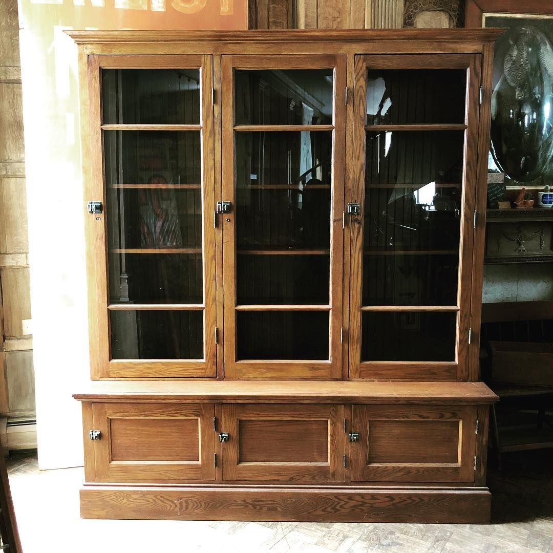 Image May Contain Plant Glass Cabinet Doors Vintage Metal Cabinet Antique Cabinets