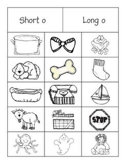 First Grade a la Carte: A, E, I, O, U Sorts | Education ...