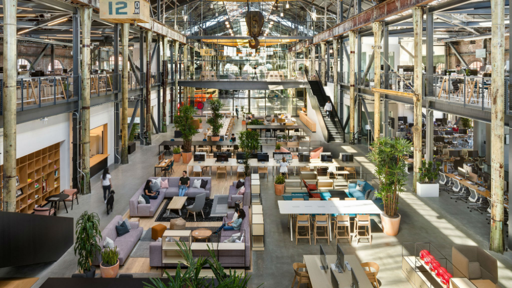 Pin by Jack Wang on CoWork Office | Dezeen, Corporate interiors ...