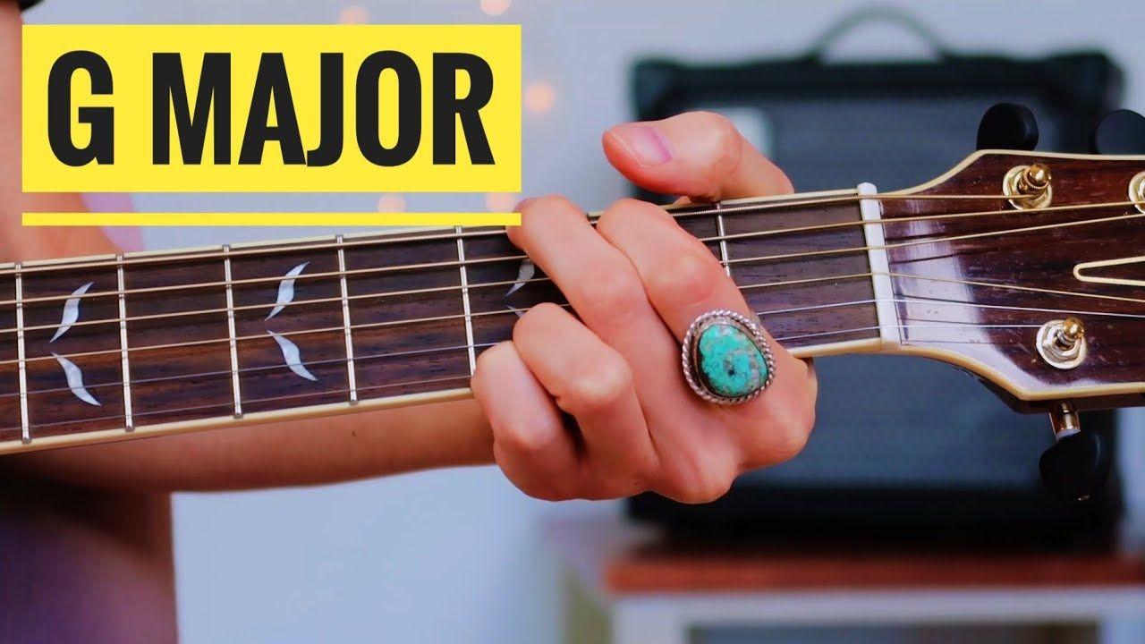 G major chord 2 ways beginner guitar lesson youtube