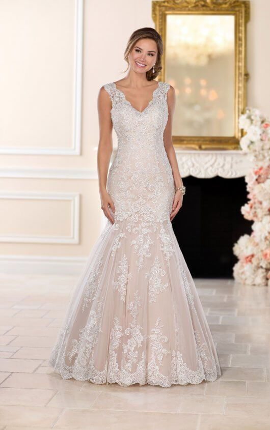 Stella york 6525 lace fit in flare Fall 2017 collection | Stella ...