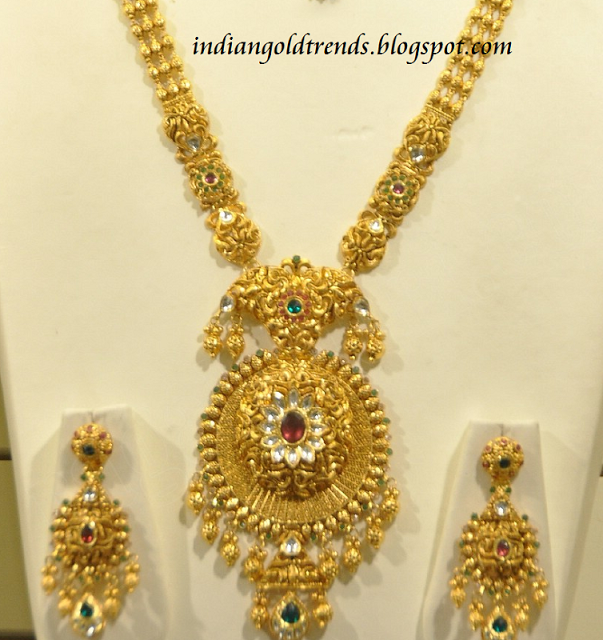 9c67b984dc043 Latest Indian Gold and Diamond Jewellery Designs: Malabar gold ...