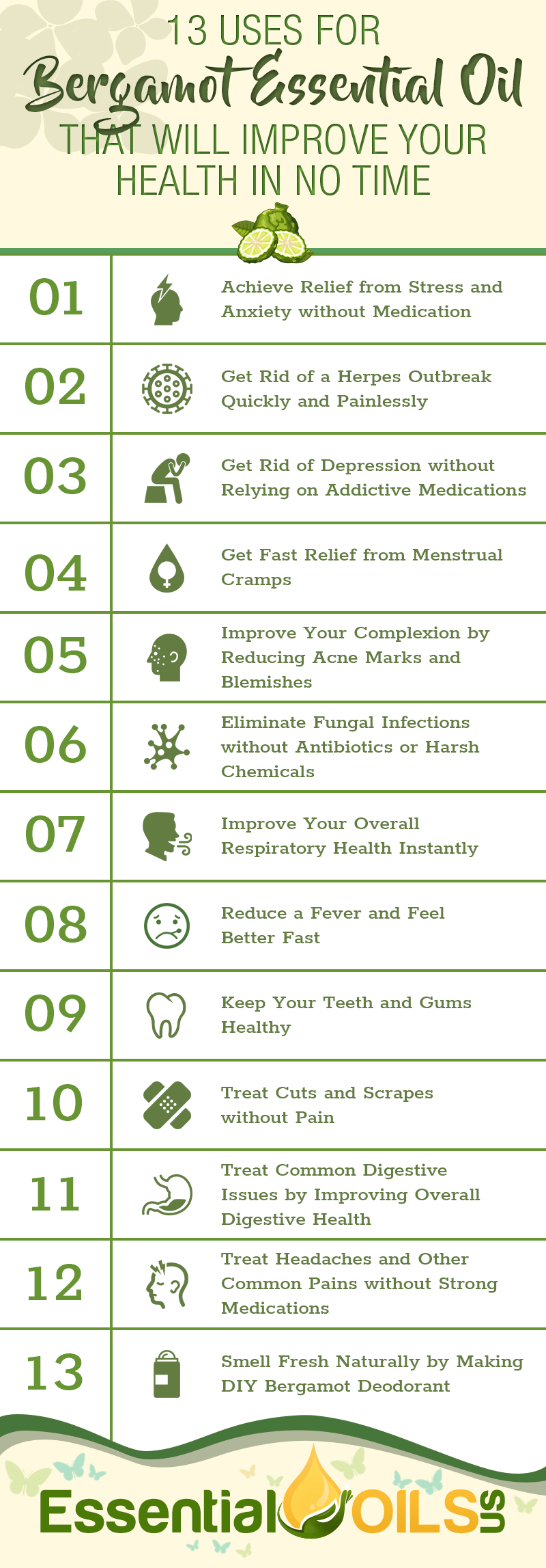 13 Uses For Bergamot Essential Oil That Will Improve Your Health In No Time  Essential Oils