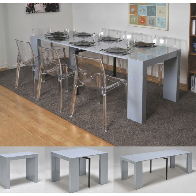 Console Transformable En Table: EXTEND Table Console Extensible, Transformable En Console