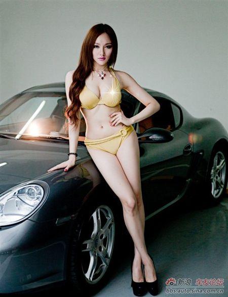 Bikini Cool Supercar Melt Car Sport Girl Car Pinterest