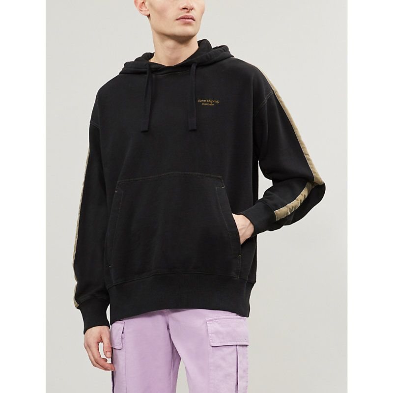 00374383ef ACNE STUDIOS FRANZ COTTON-JERSEY HOODY. #acnestudios #cloth | Acne ...