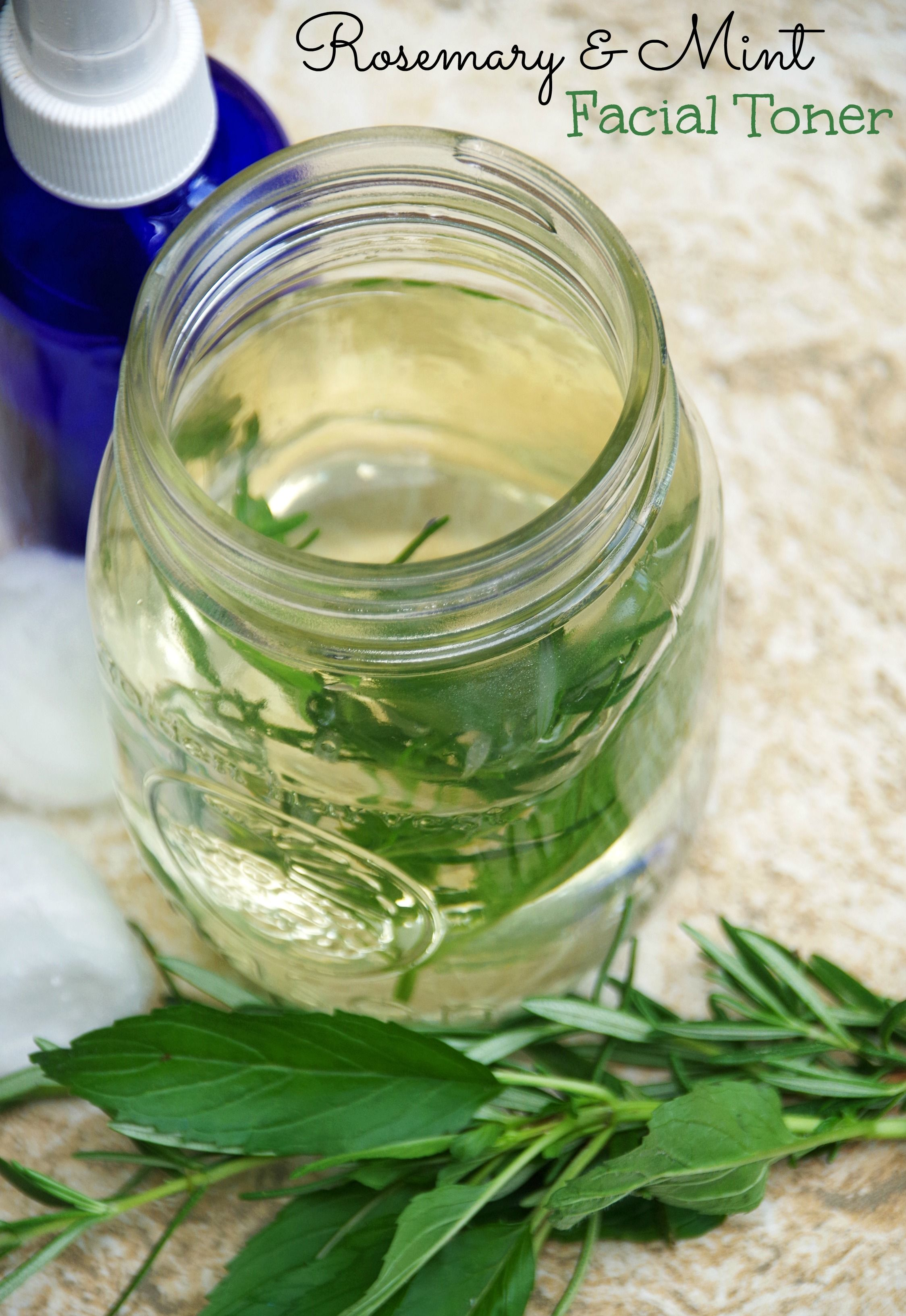 Opinion homemade facial toner fresh rosemary something