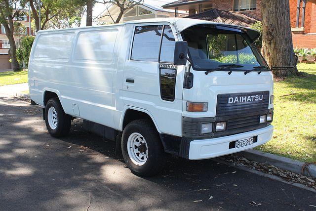 Daihatsu Delta Panel Van Daihatsu Vans