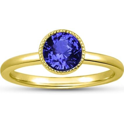 18K Yellow Gold Sapphire Sierra Ring from Brilliant Earth