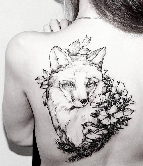 90 Fox Tattoo Designs For Men And Women Tatuirovki Na Temu Prirody Tatuirovka Spiny Tatuirovki Lisy