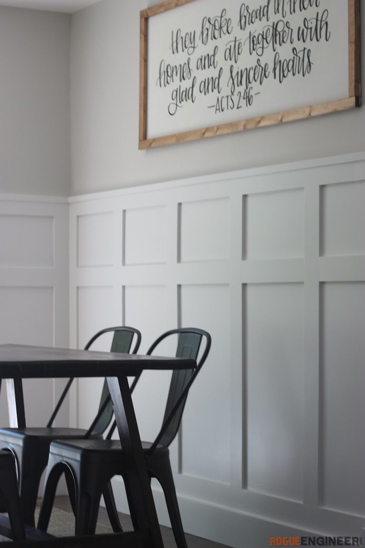 Board And Batten Wainscoting Full Tutorial And Video