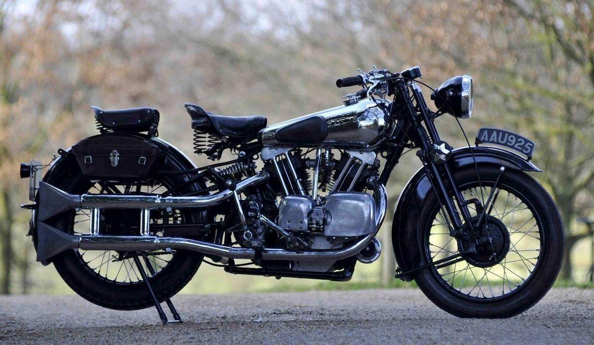 1934 Brough Superior Vintage motorcycles, Motorcycle