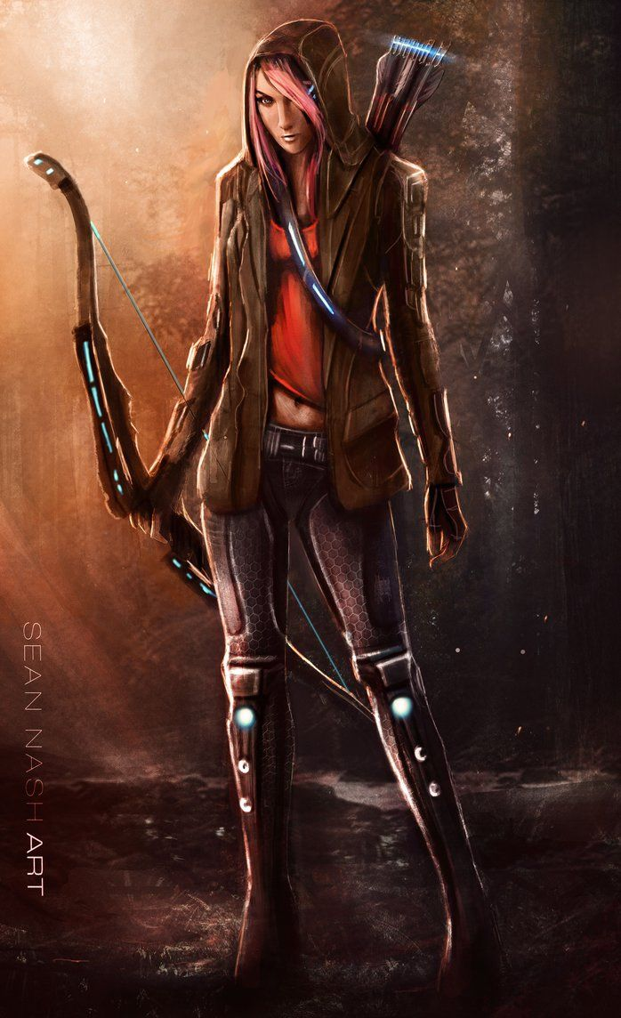 Character Concept Art - Hunt for Food. by SeanNash on ...