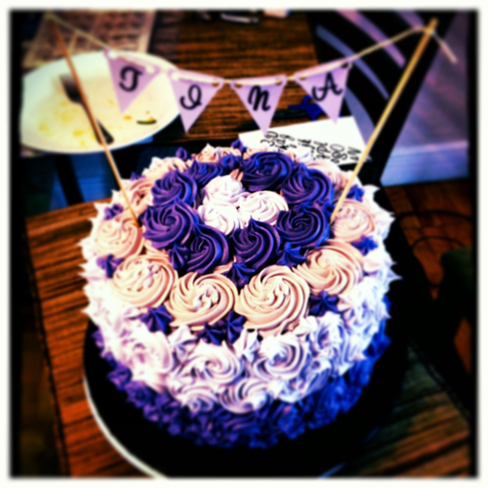 Tina's 27th Birthday Cake!