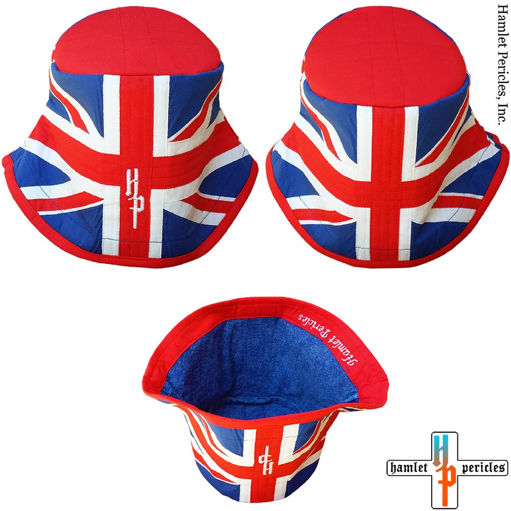 64cd1630f91 UK Flag Bucket Hat via Hamlet Pericles