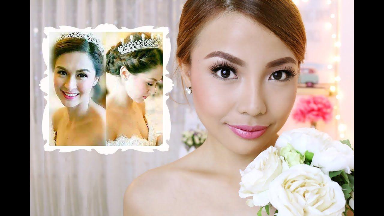 Wedding Hairstyle Of Marian Rivera