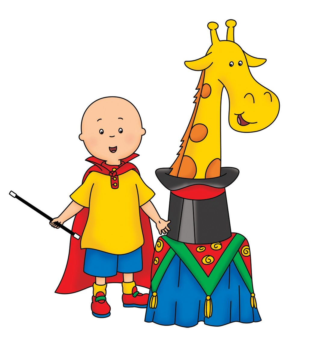 Goochelaar | lillys child hood | Pinterest | Caillou and Pbs kids