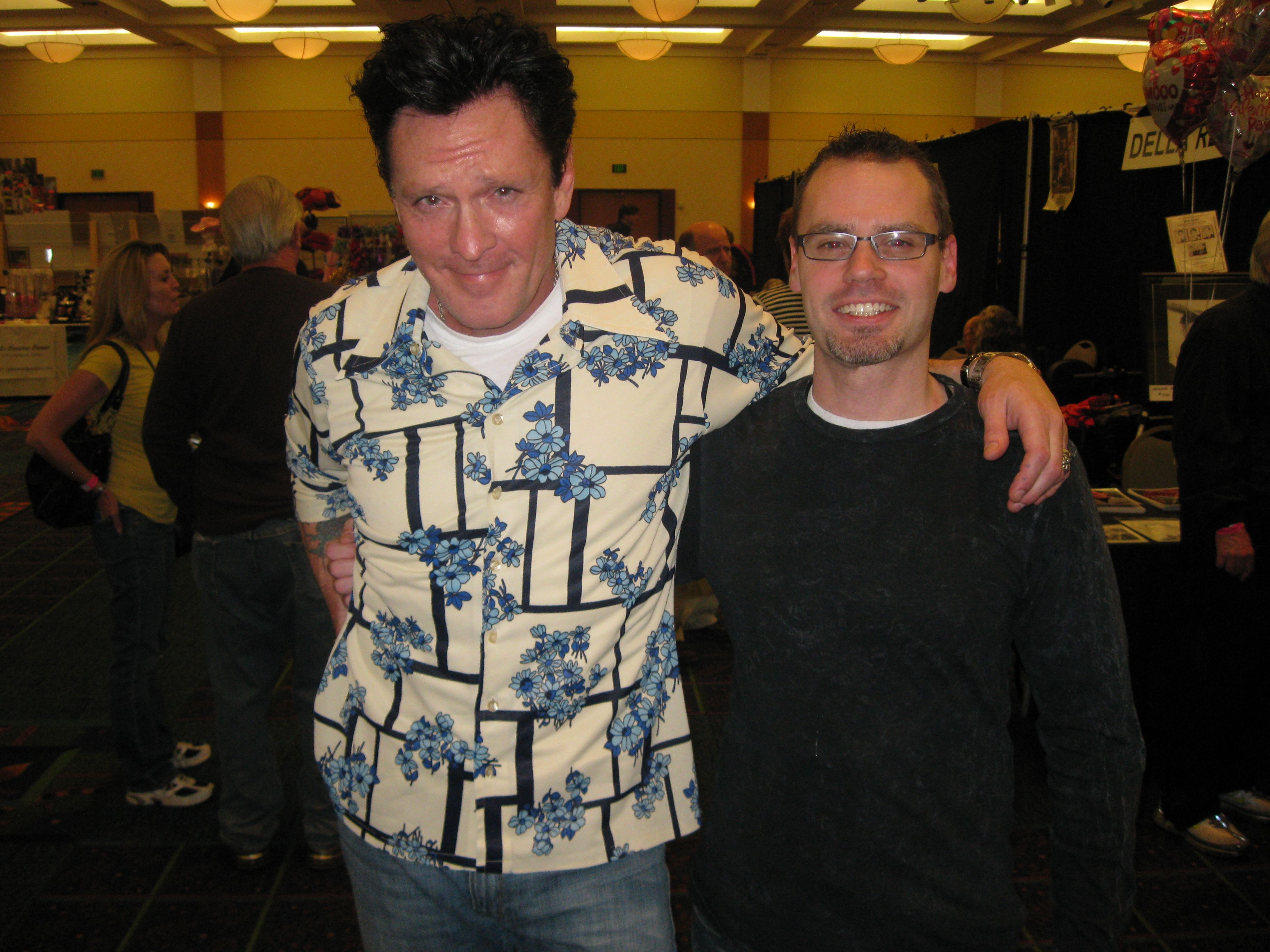 Me and Michael Madsen
