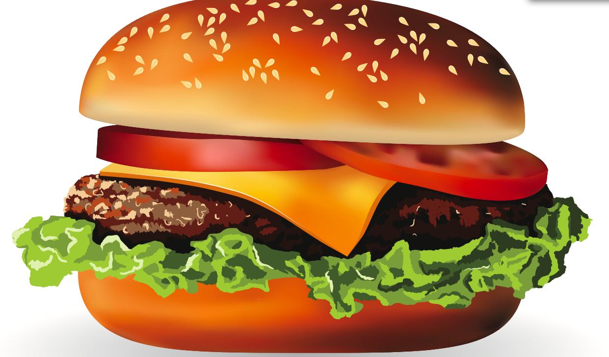 Pin by lisa birgis on myndir af mat pinterest clip art for Hamburger clipart
