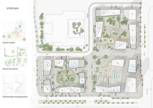 Dreem Arkitekter's Mixed-Use Plan Includes Stockholm's Tallest Tower,© Dreem Arkitekter