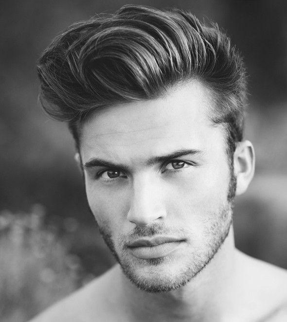 coiffure homme visage carre mannequin Dress Pinterest - peinados hombre