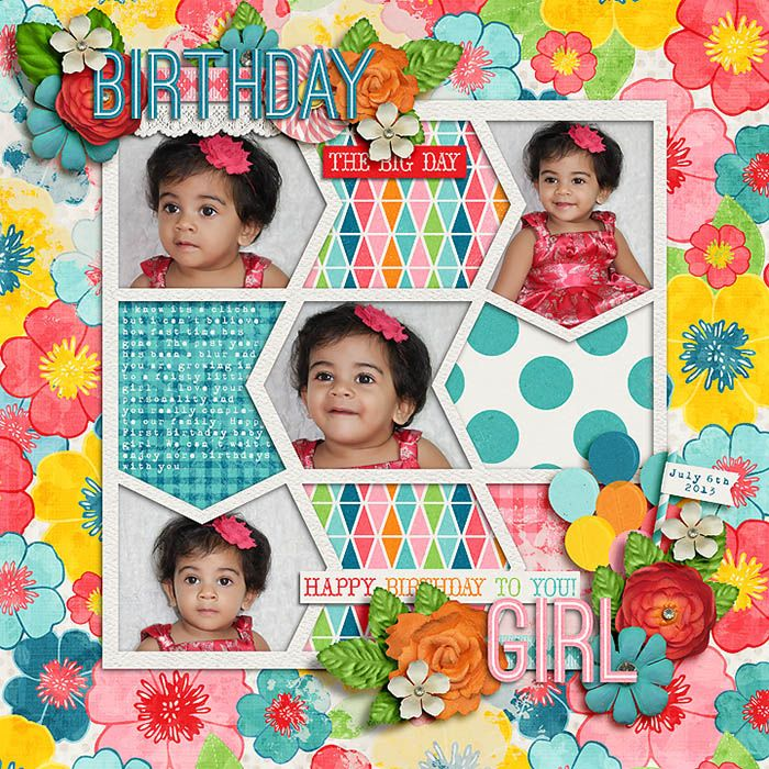 A Very Happy Birthday By Zoe Pearn Template By Meagan's