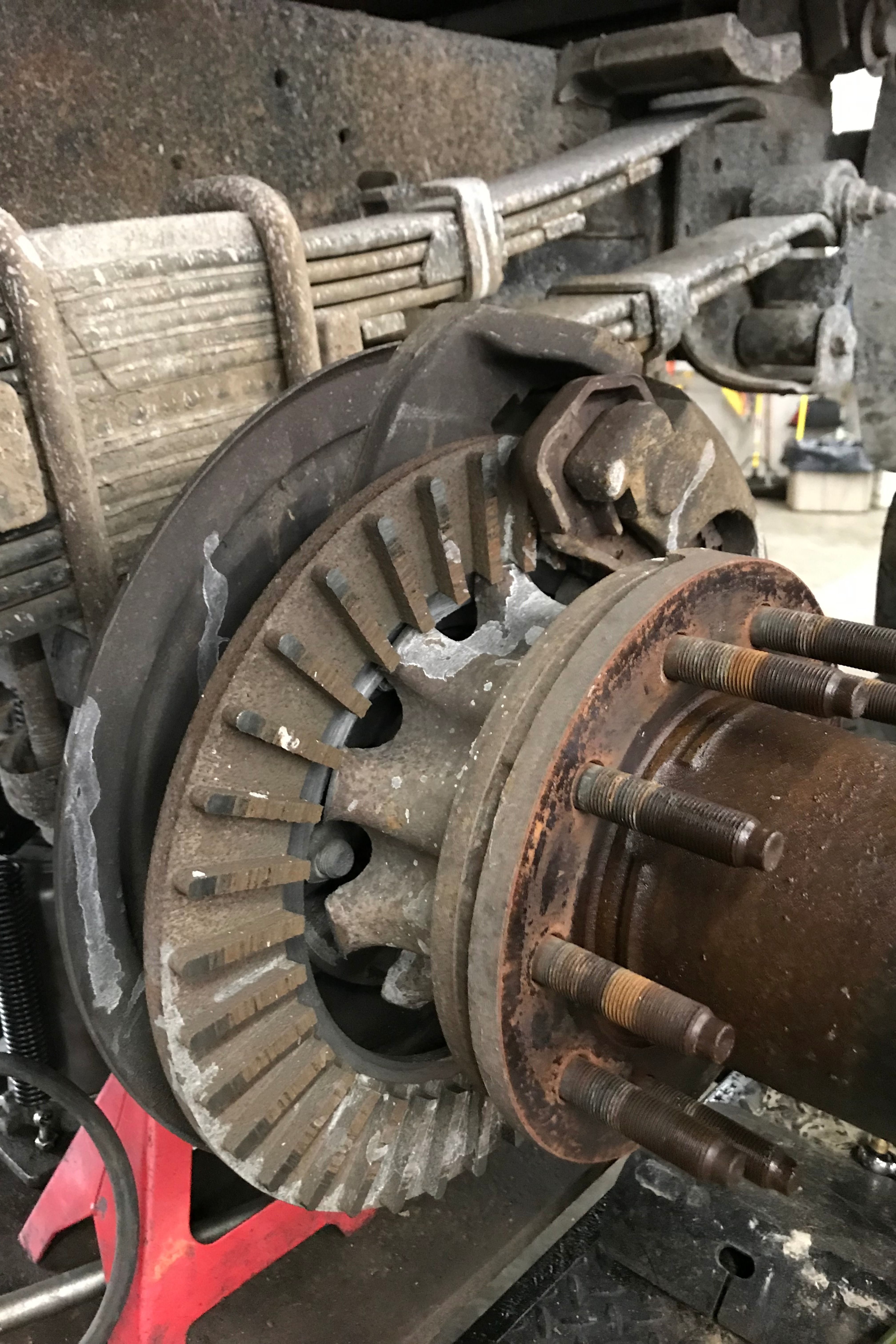 Chevy Hd Complaint Was Brakes Not Working Right And They Hear Something Seriously