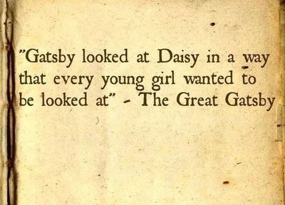 Quotes from the great gatsby about gatsby