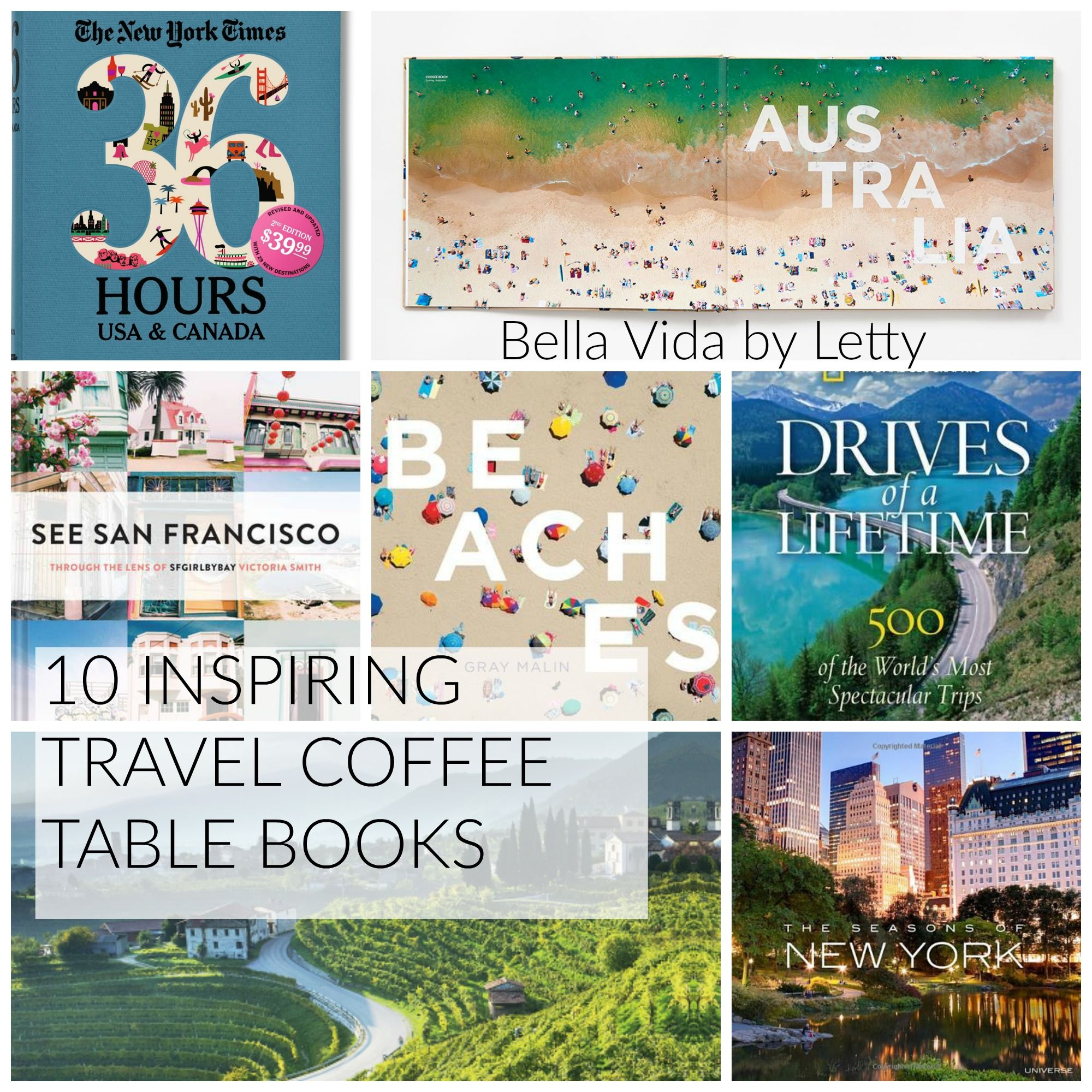 10 Inspiring Travel Coffee Table Books Coffee Table Books