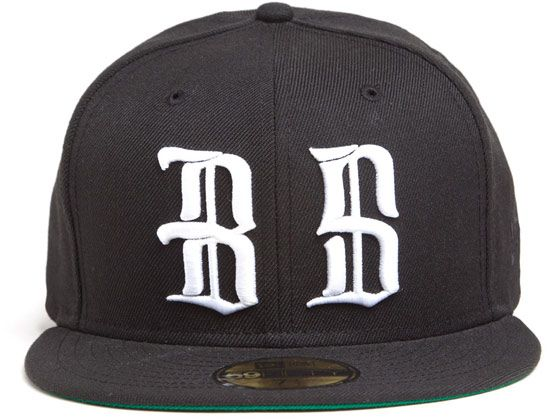 Olde Logo NEW ERA 59Fifty Fitted Cap by NEW ERA x BLACK SCALE