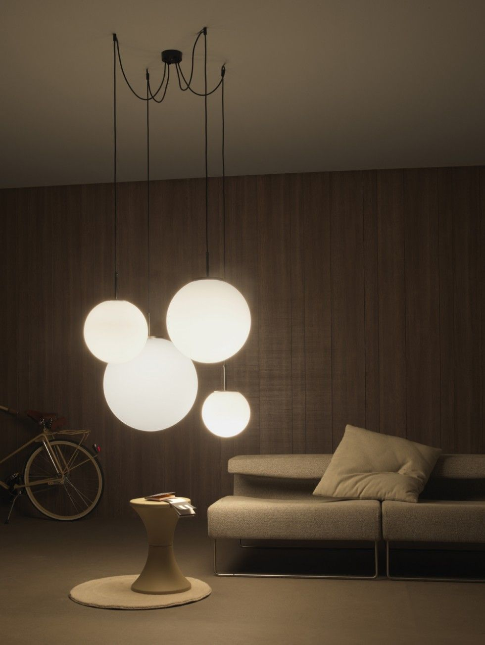 Vesoi palla suspension lamps. This is what I want