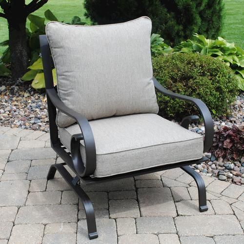 Backyard Creations Hattington Chat Chair At Menards Backyard Creations Patio Chairs Outdoor Chairs
