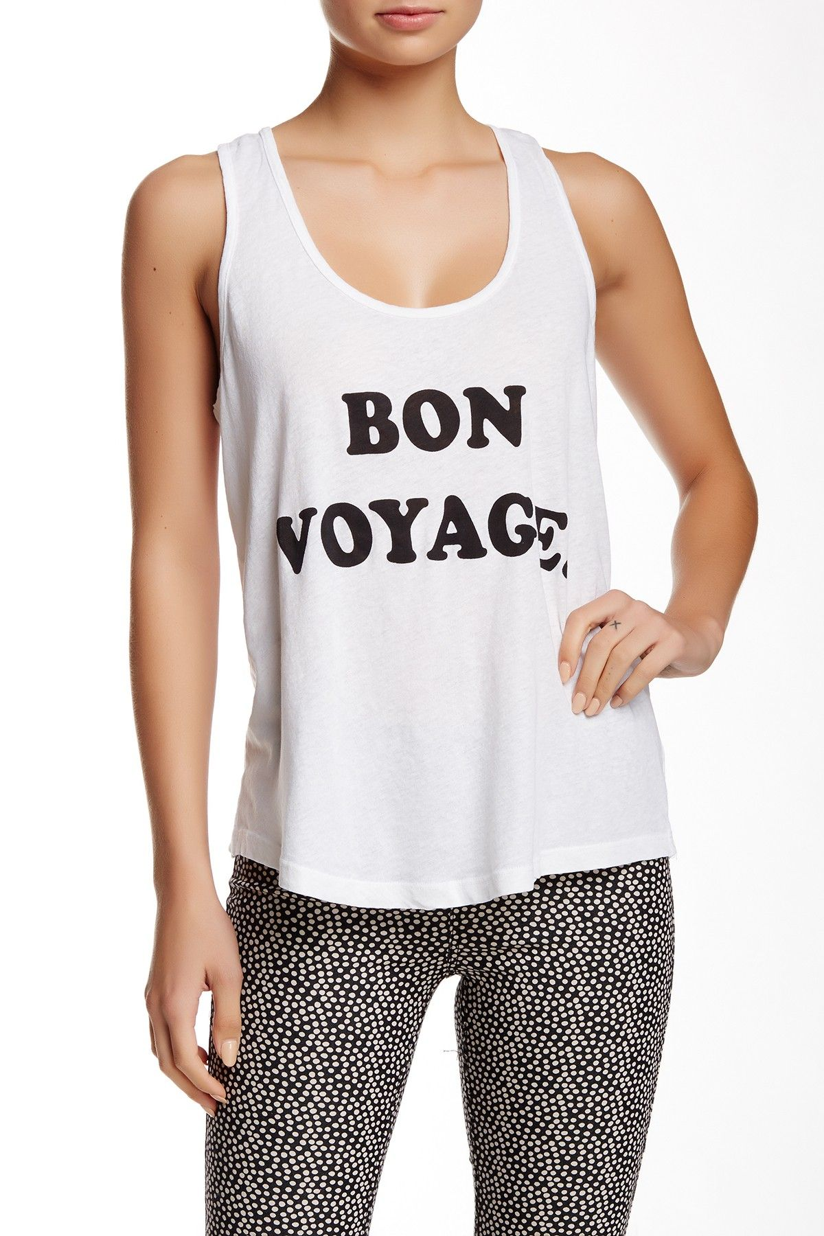 1004c6ca8 See Ya Road Trip Linen Blend Tank by WILDFOX on  nordstrom rack