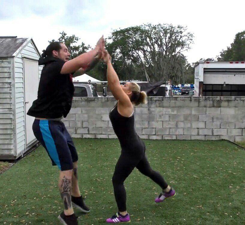 Baron Corbin & Natalya