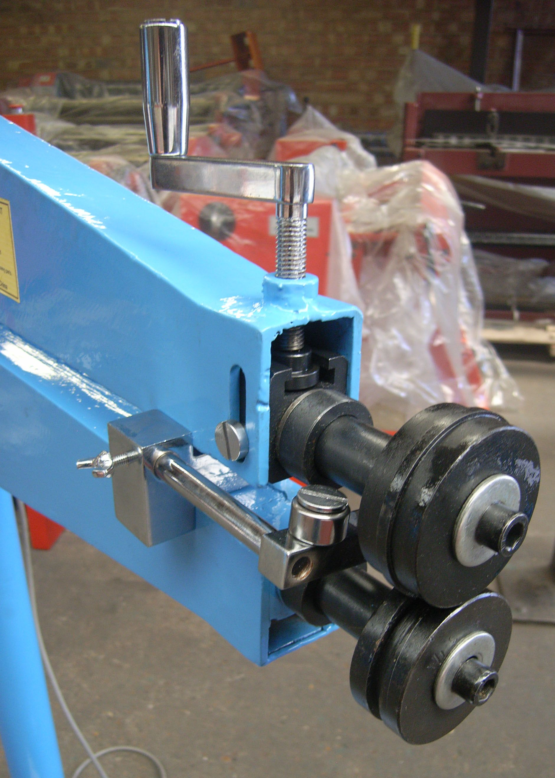 Wns Power Bead Roller Swager 585mm Throat In 2020 Szerszamok Techno