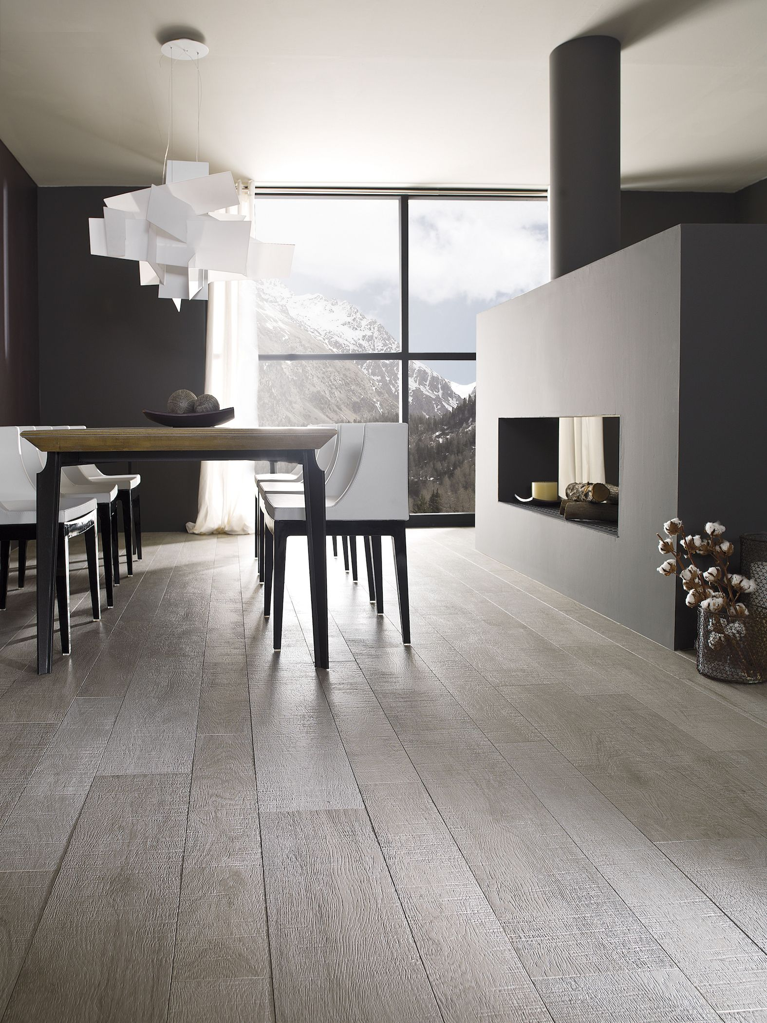 Porcelanosa Oxford Acero Home Wooden Floor Tiles Living Room Tiles