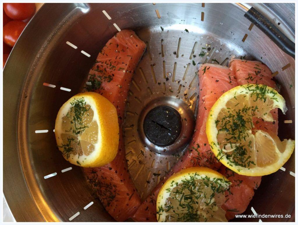 Lachs Auf Barlauchsosse Mit Der Krups Prep And Cook Zubereitet Barlauchsosse Rezepte Und Lebensmittel Essen