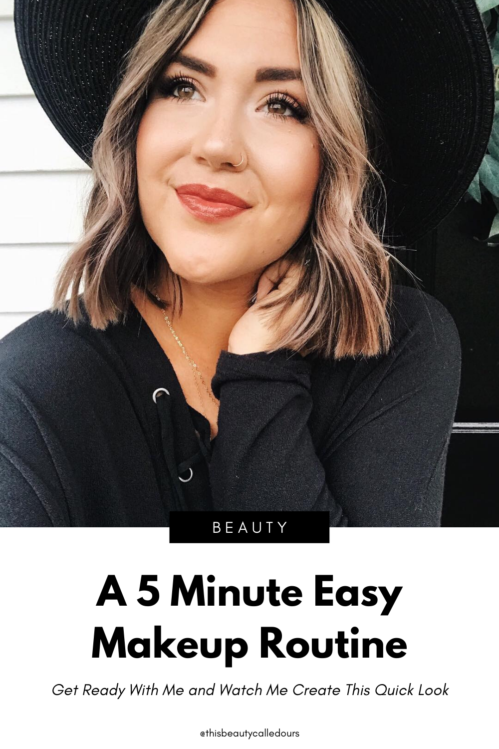 My 5 Minute Makeup Routine in 2020 (With images) Makeup