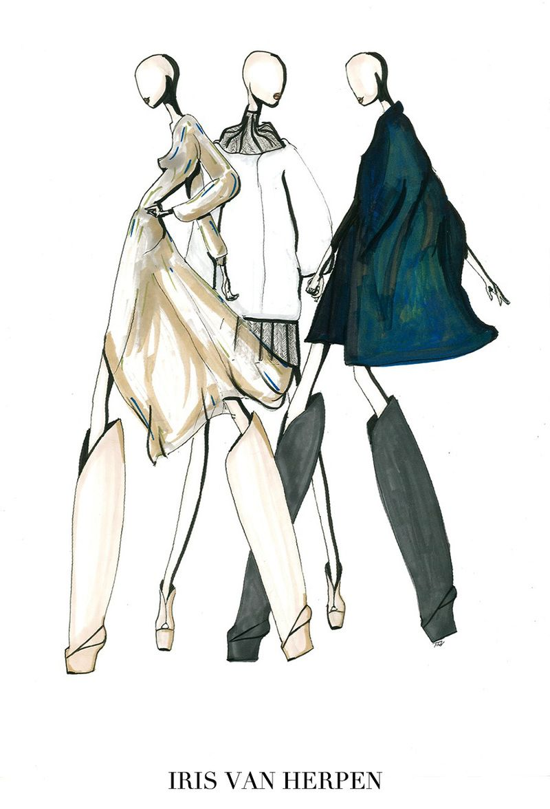 Photo of ILLUSTRATIONS | The Top Eleven Looks of Paris Fashion Week
