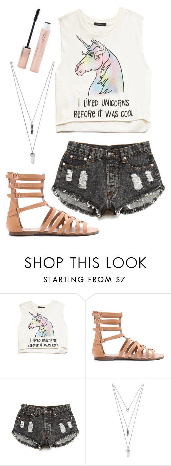 """""""Forever 21"""" by o0kitten0o on Polyvore featuring Forever 21"""