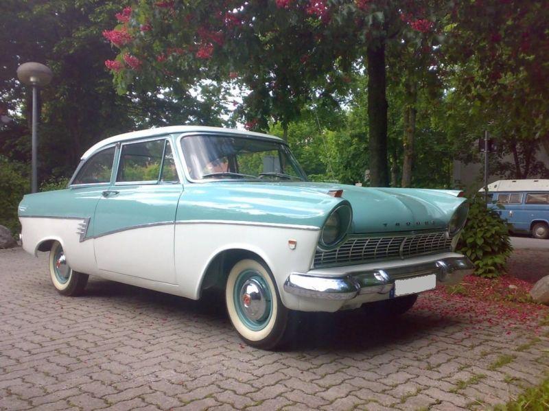 Ford Taunus 17m P2 De Luxe Stidge Com Voitures De Luxe Voiture Ford Motor Company