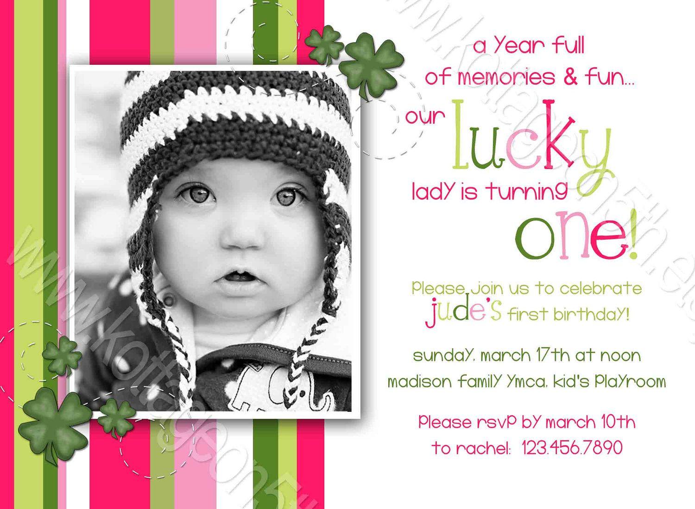 Cute wording Lucky Lady 3 - Stripes - St. Patricks Day - Printable ...