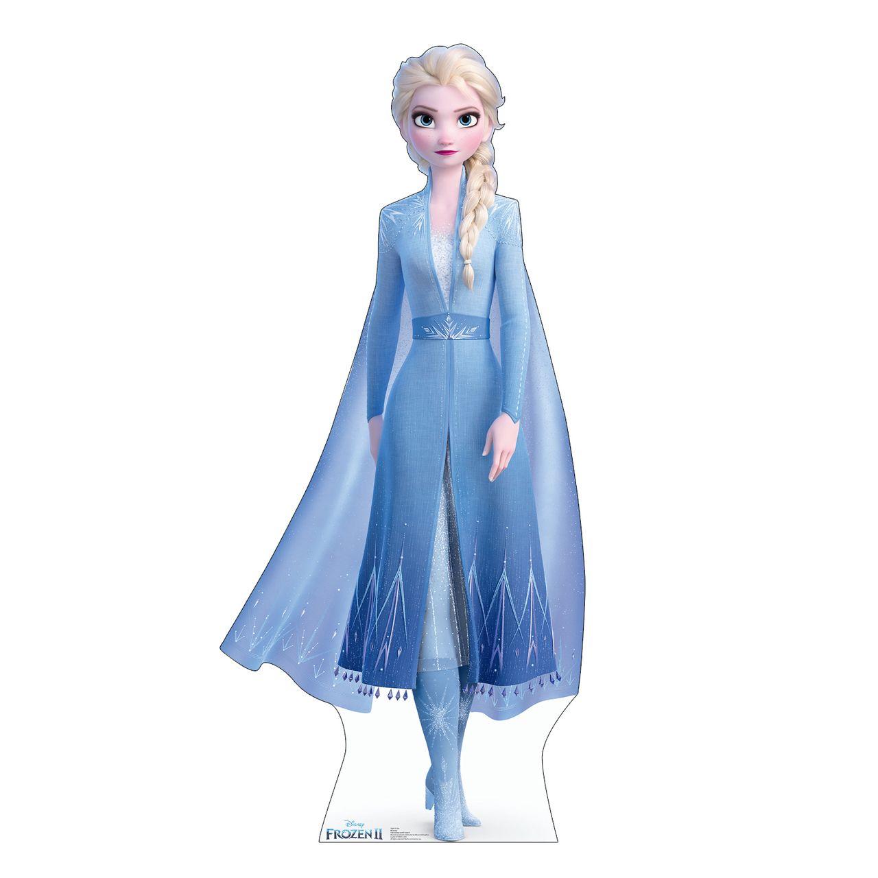Elsa Frozen 2 Cardboard Standup Cutout Elsa Frozen Disney Princess Frozen Disney Frozen Elsa