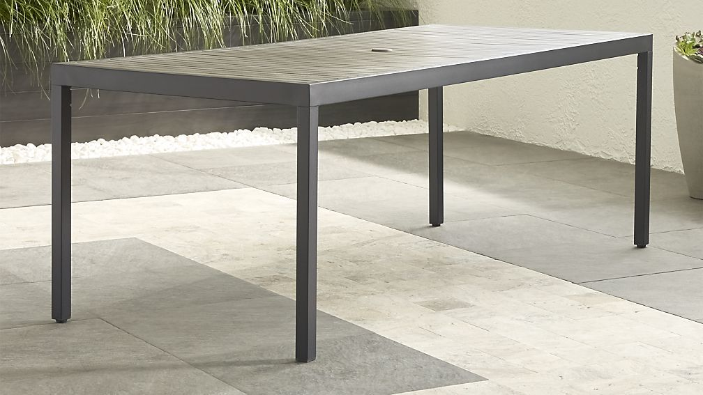 Alfresco Grey Rectangular Dining Table Seats 8 699