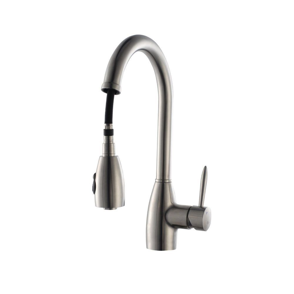 Contemporary Kraus Pull Out Kitchen Faucet Sketch - Faucet Products ...