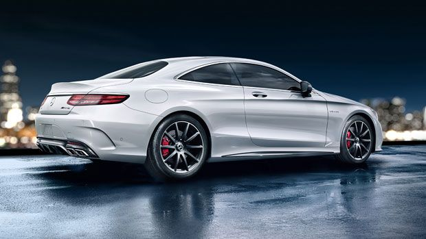 Mercedes 2017 Flagship Spotted Test Driving Along S63 Amg