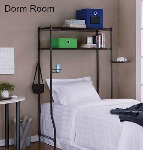 E Saver Over Bed Dorm Room Or Desk Shelves Organizer Unit Tall Adjule